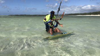 Learn or practice kitesurf